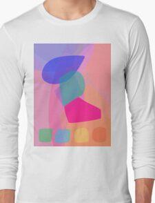 Four Buttons Long Sleeve T-Shirt