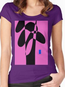 Blue Fruit Women's Fitted Scoop T-Shirt