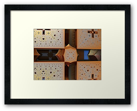 Cross Pierced by James Brotherton