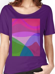 Overlooking the Lake Women's Relaxed Fit T-Shirt