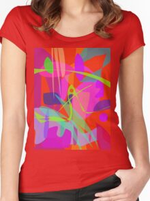 Waterfall Basin Women's Fitted Scoop T-Shirt
