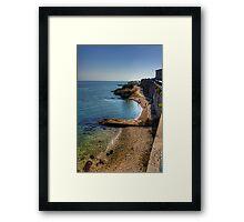 Along the Coast Road Framed Print