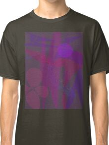 Flower Stars Purple Moon Classic T-Shirt