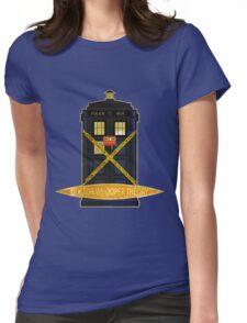 DOCTOR WHOOPER THEORY VINTAGE  Womens Fitted T-Shirt