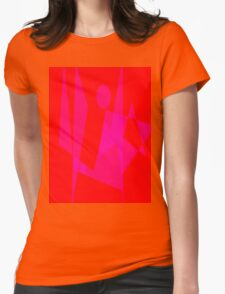 Standing on the Ground Womens Fitted T-Shirt