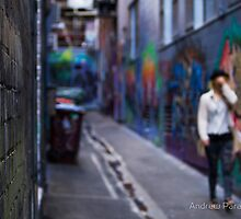Person Unknown... by Andrew Paranavitana by Shot in the Heart of Melbourne, 2013