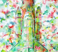 SPACE SHUTTLE - LAUNCH POD by lautir