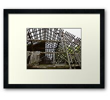One Good Wind And Its Gone Framed Print
