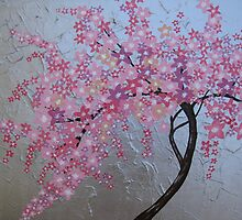 Japanese cherry blossom in London by cathyjacobs