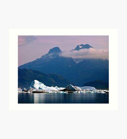 Alaska - Columbia Glacier Art Print