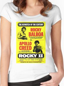 Rocky II Women's Fitted Scoop T-Shirt