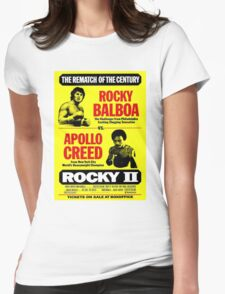 Rocky II Womens Fitted T-Shirt