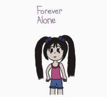 Forever alone One Piece - Short Sleeve