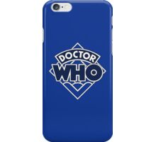 4th Doctor Logo iPhone Case/Skin