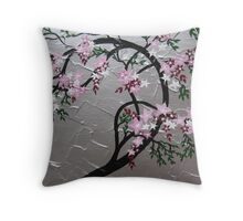 Cherry blossom ( Sakura ) Throw Pillow