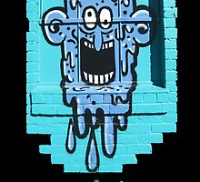Graffiti Window Treatment by DAdeSimone