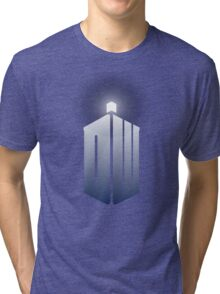 11th Doctor Logo Tri-blend T-Shirt