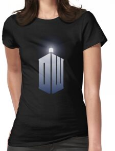 11th Doctor Logo Womens Fitted T-Shirt