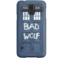 Tardis Bad Wolf Case Samsung Galaxy Case/Skin