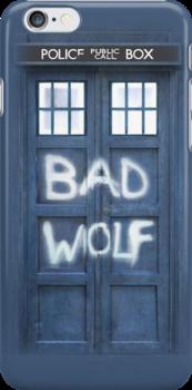 Tardis Bad Wolf Case by Teddy Got His Gun