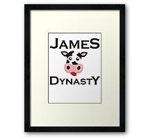 James Dynasty Framed Print