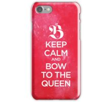 Bow to the Queen - Beyoncé iPhone Case/Skin