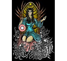 Lady Night Coloring Photographic Print
