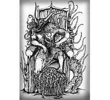 King of Hell Sketch Photographic Print