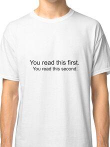 Mind Trick T-shirt Classic T-Shirt