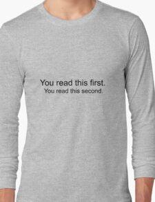 Mind Trick T-shirt Long Sleeve T-Shirt