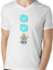 Ice Ice Baby Mens V-Neck T-Shirt