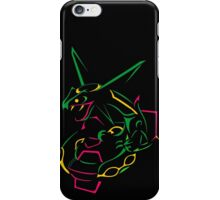 Rayquaza Line Art iPhone Case/Skin