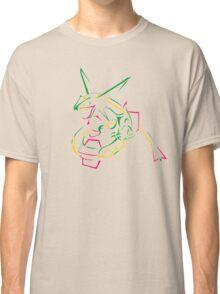 Rayquaza Line Art Classic T-Shirt