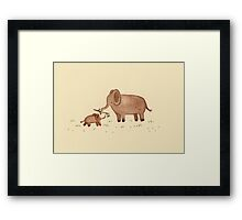 Don't Forget to Share Framed Print
