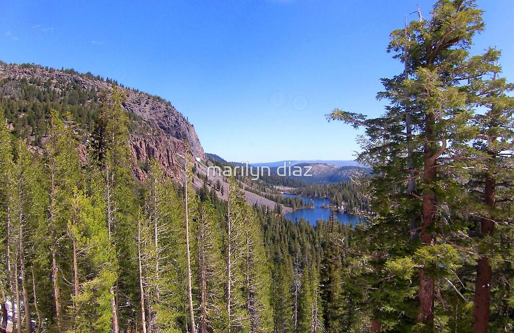 Up High In The Sierras by marilyn diaz