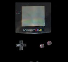 Black GameBoy Colour by Sir Slay Design