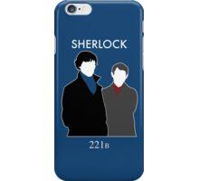 Sherlock and Watson iPhone Case/Skin