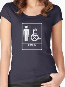 X-MENS ROOM Women's Fitted Scoop T-Shirt