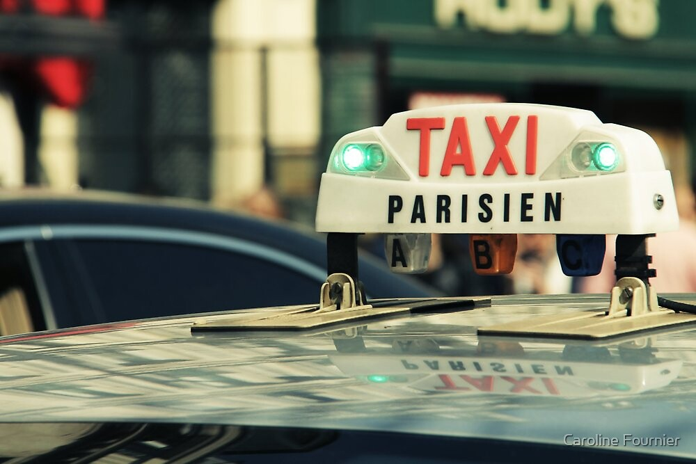 Taxi Parisien by Caroline Fournier