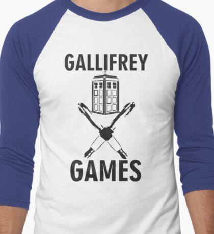 Gallifrey Games Men's Baseball ¾ T-Shirt