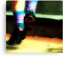 Fashion with a beat Canvas Print
