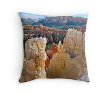 Patterns of Bryce Canyon Throw Pillow