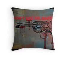 Don't kill my baby Throw Pillow