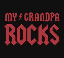 My Grandpa Rocks! Kids Tee