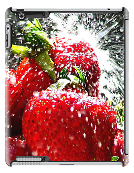 Strawberry i Pad Case  by Colin J Williams Photography
