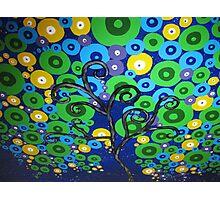 peacock tree Photographic Print