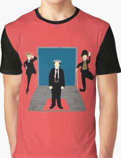 Silent Comedy Stars Graphic T-Shirt