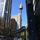 Sydney monorail by PhotosByG