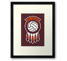 OKC Soccer // America League // PCGD Framed Print