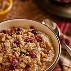 Oatmeal - Comfort food for breakfast by Jerry Deutsch